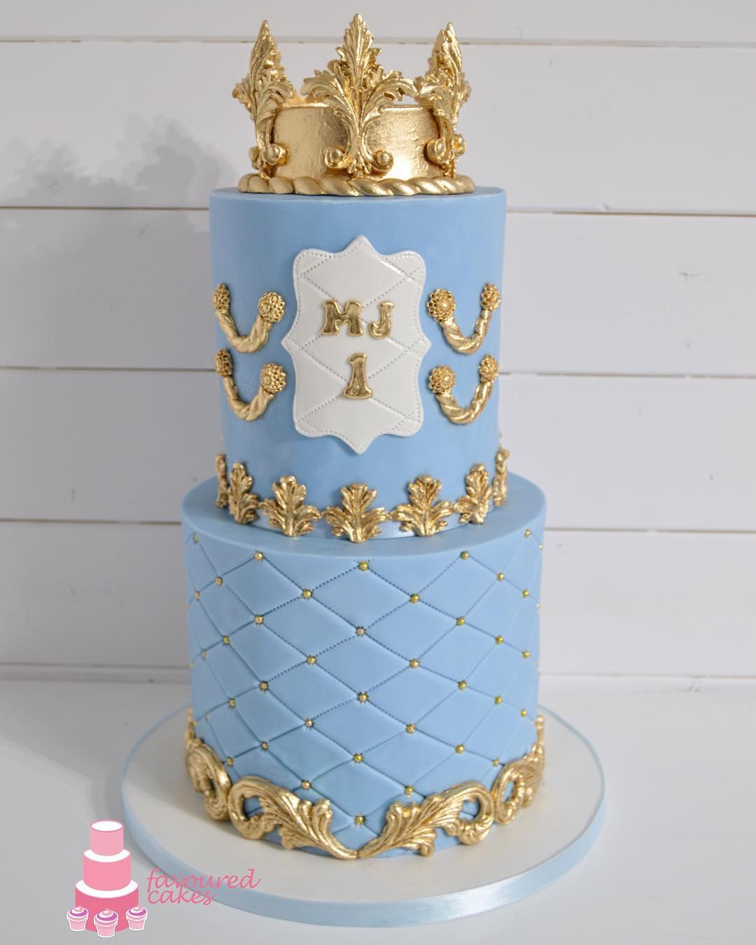 Tall Crown  & Baroque Cake