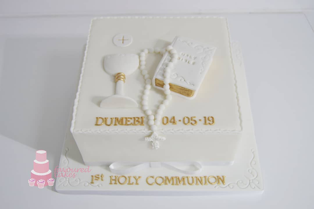 Holy Communion Cake 2
