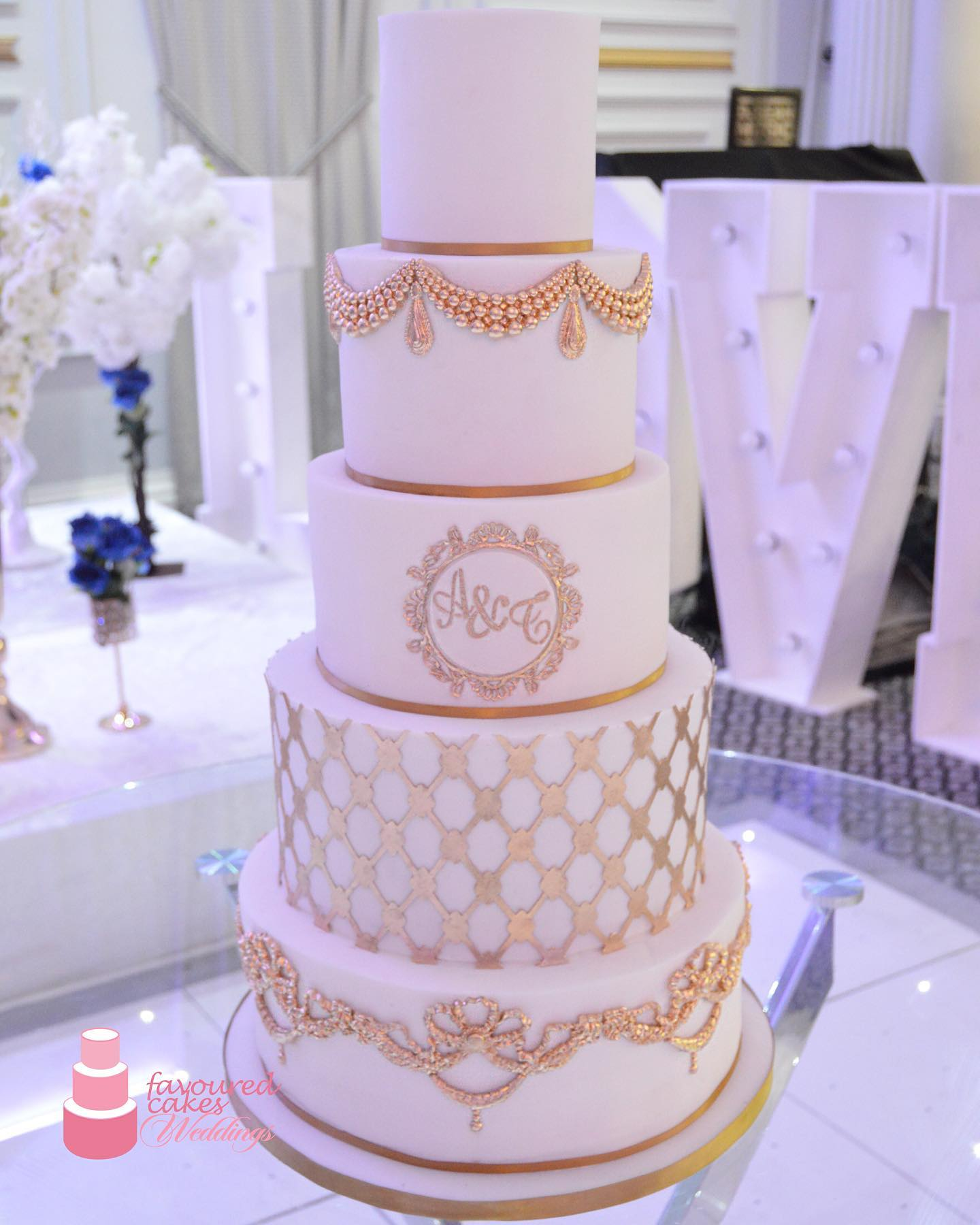 Lucinda Wedding Cake