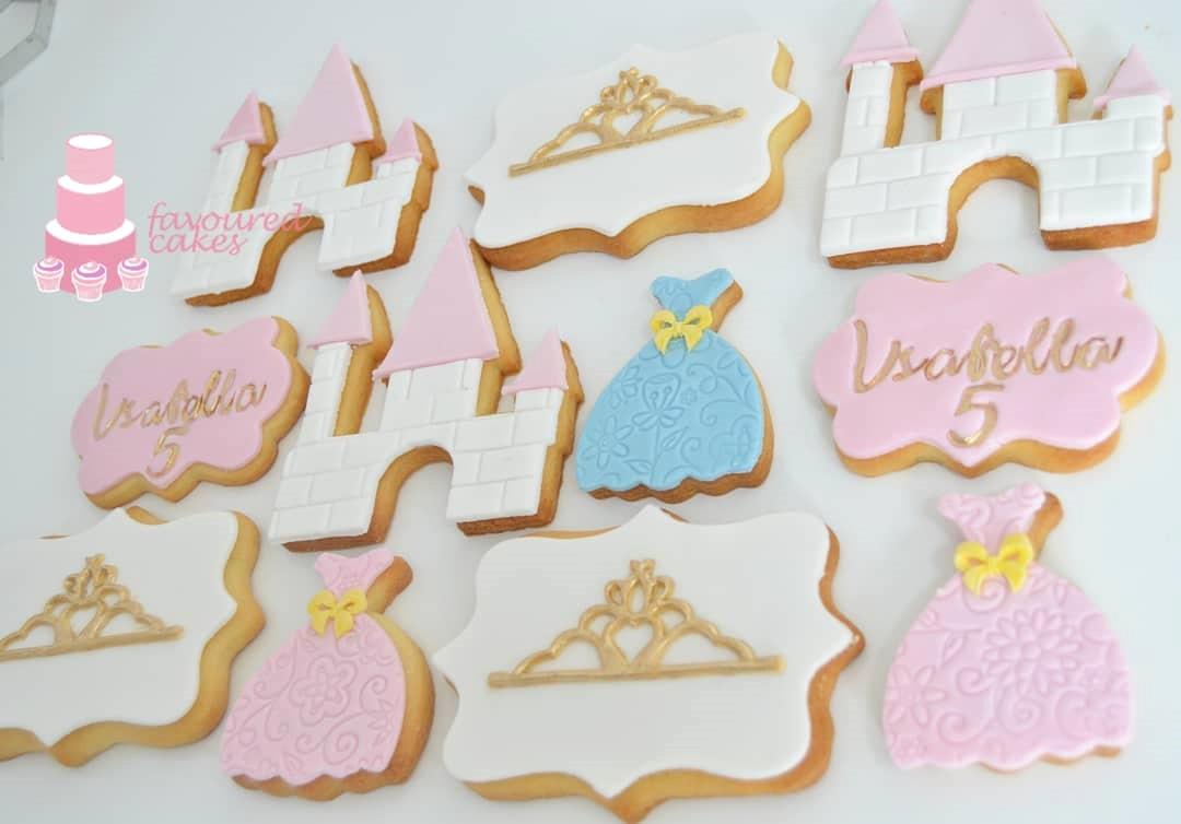 Princess Themed Cookies