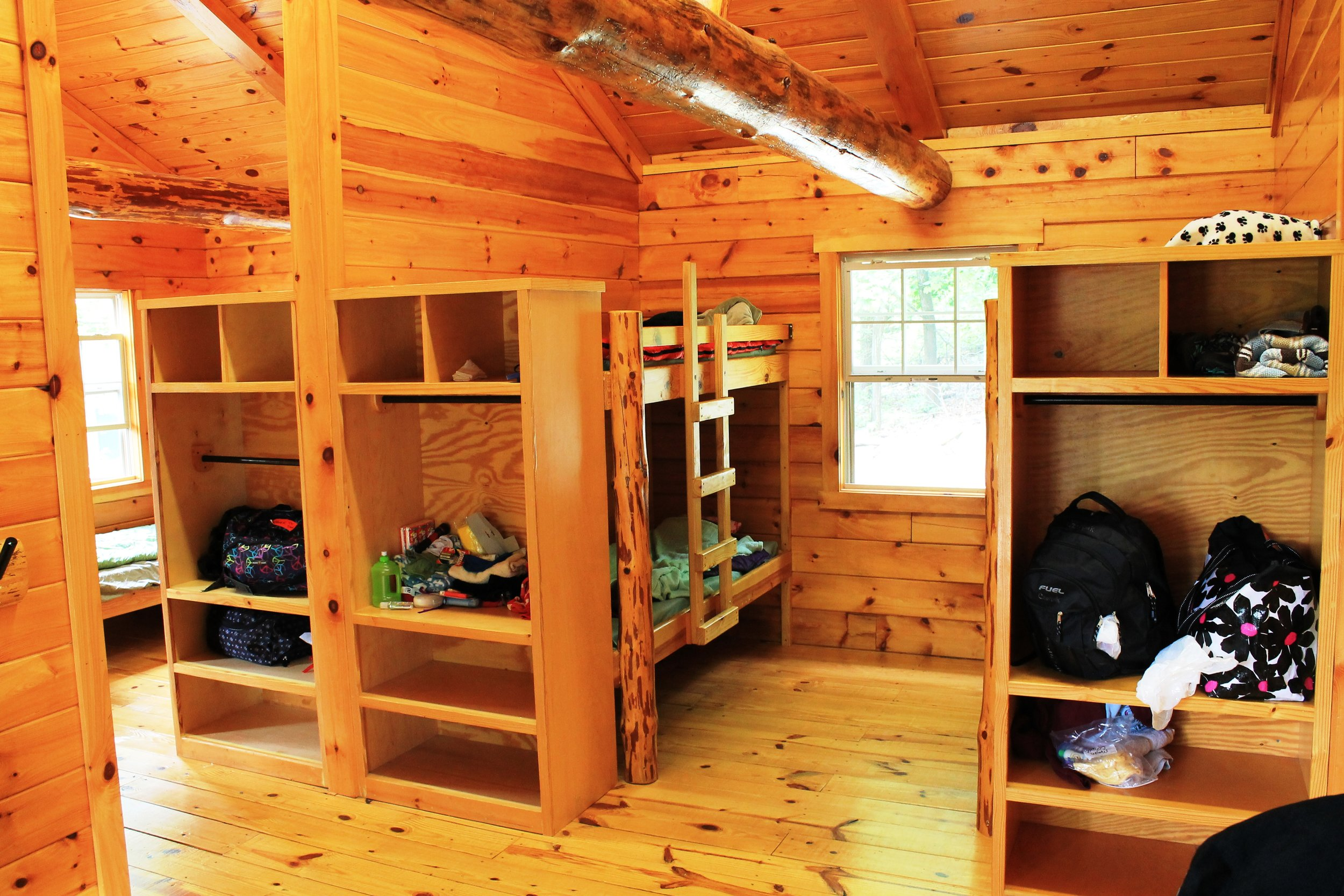 Camp To Belong River Valley cabin at camp