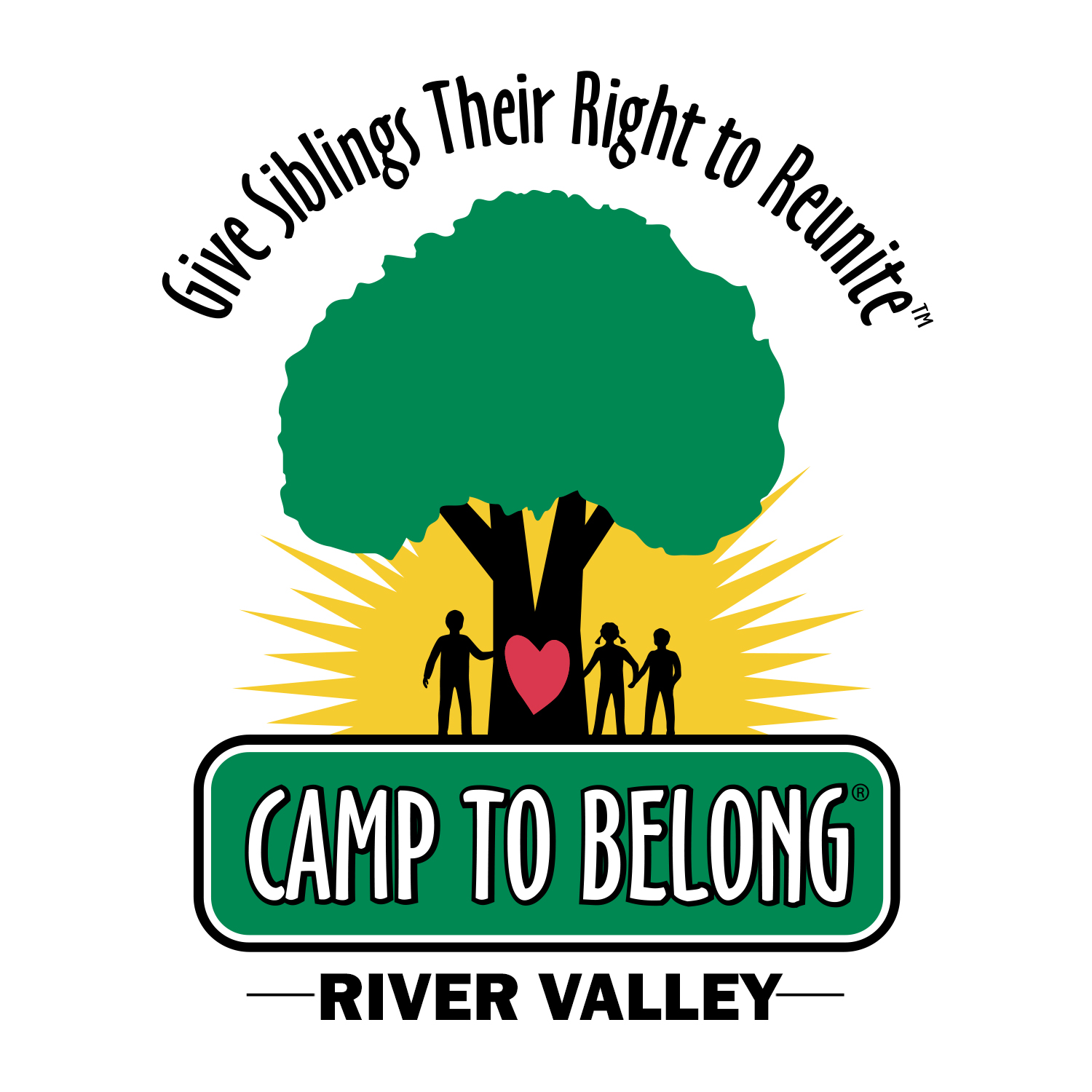 Camp To Belong River Valley logo