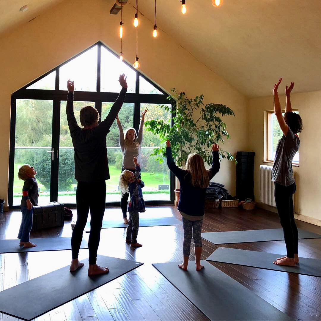 Family Yoga Horizon Inspired