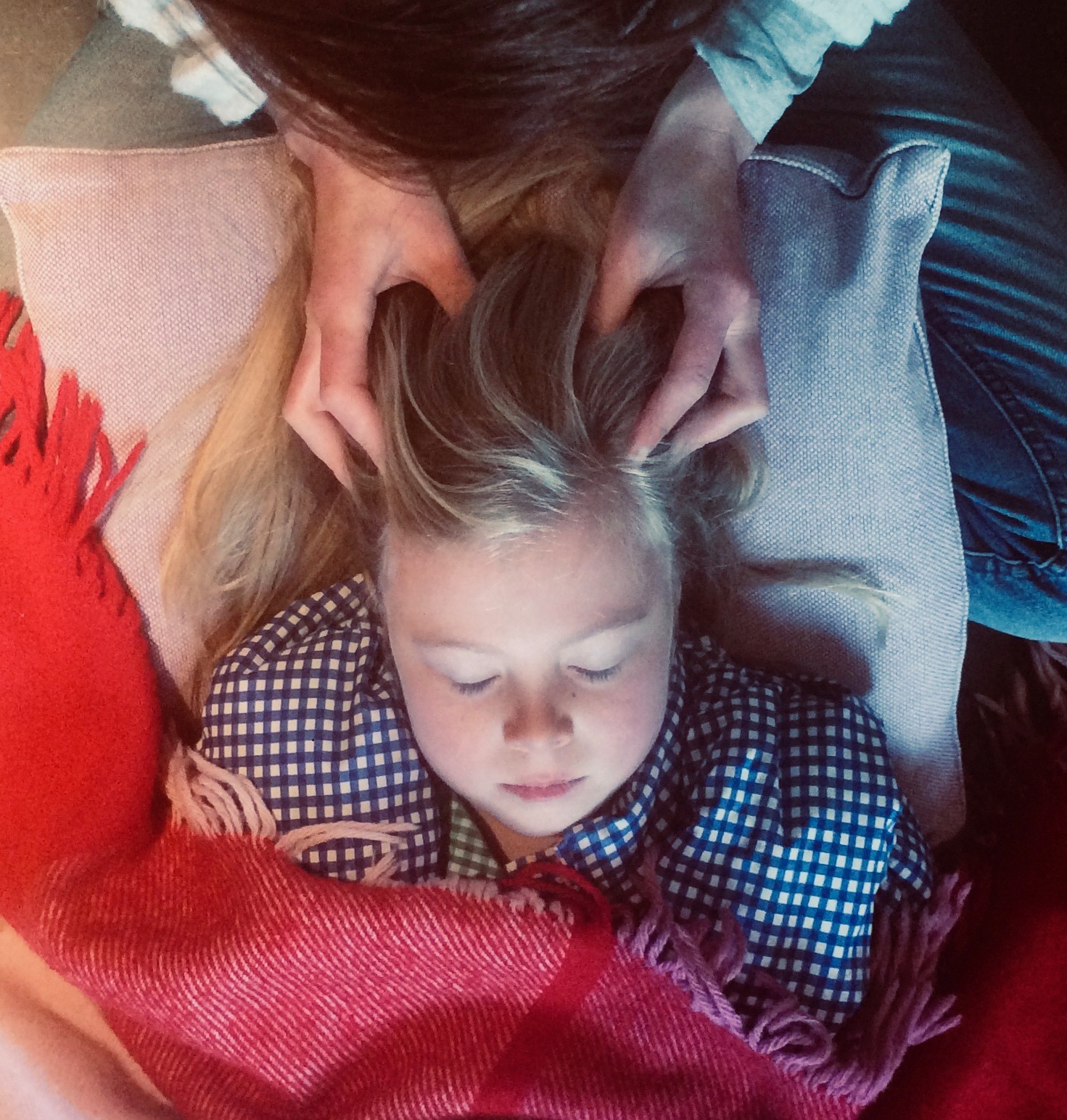 Family head massage workshop - Tuesday 30th July 20195.30pm to 7pmat Botelet FarmThis candlelit head massage workshop is for parents/carers and their children to learn together how to give a calming head massage. Costs £15 for each parent and child (£7.50 per person). Book your place on this course.