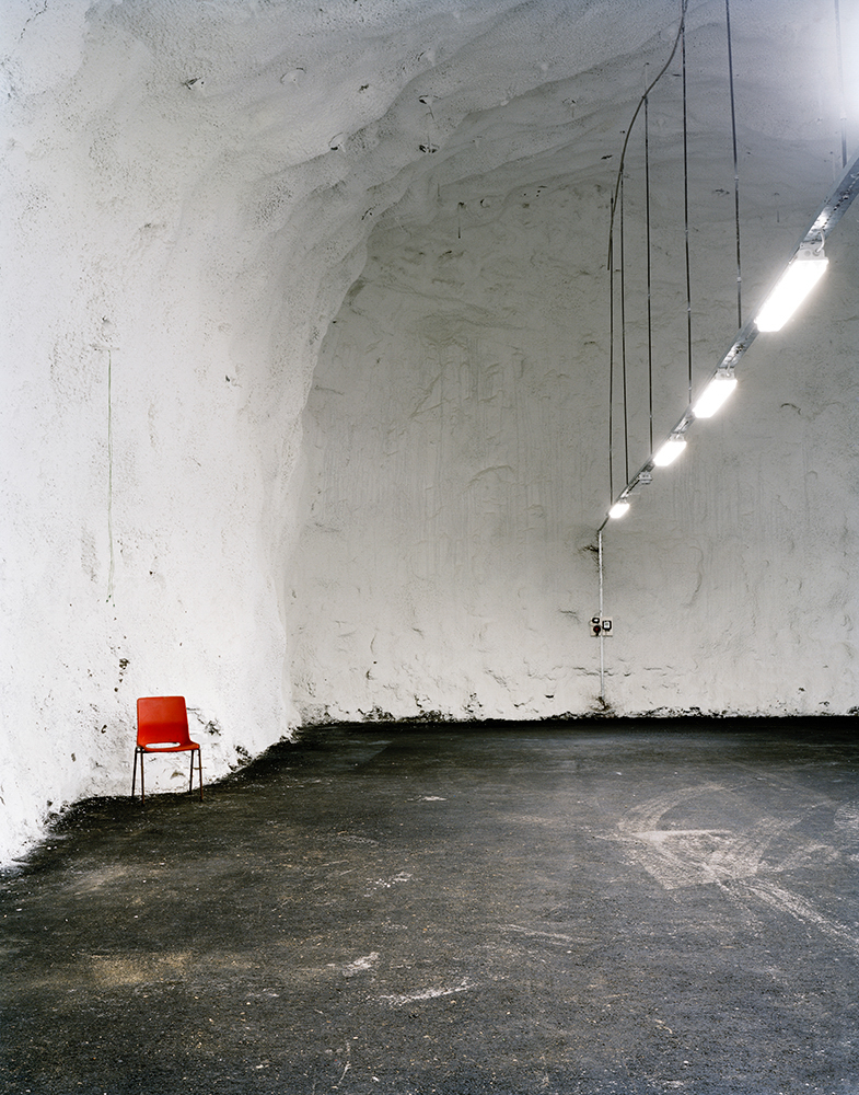 Empty Chamber, Svalbard Global Seed Vault    Spitsbergen Island, Norway