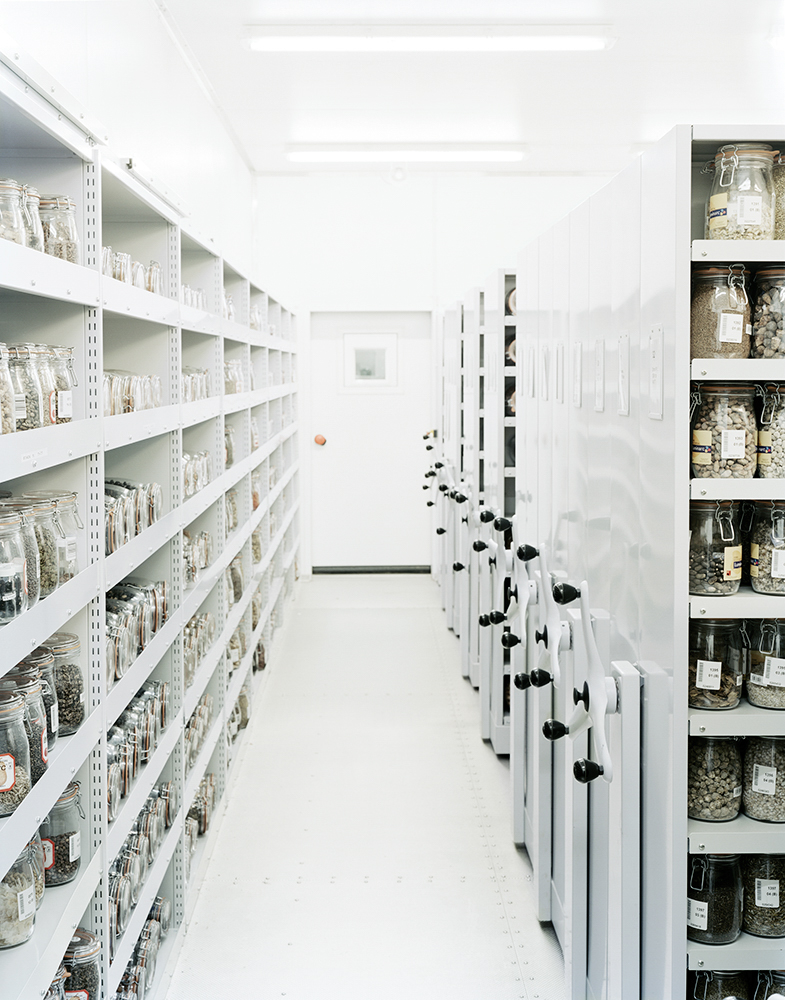 Millennium Seed Bank Vault Interior, Millennium Seed Bank, Royal Botanic Gardens, Kew    West Sussex, England