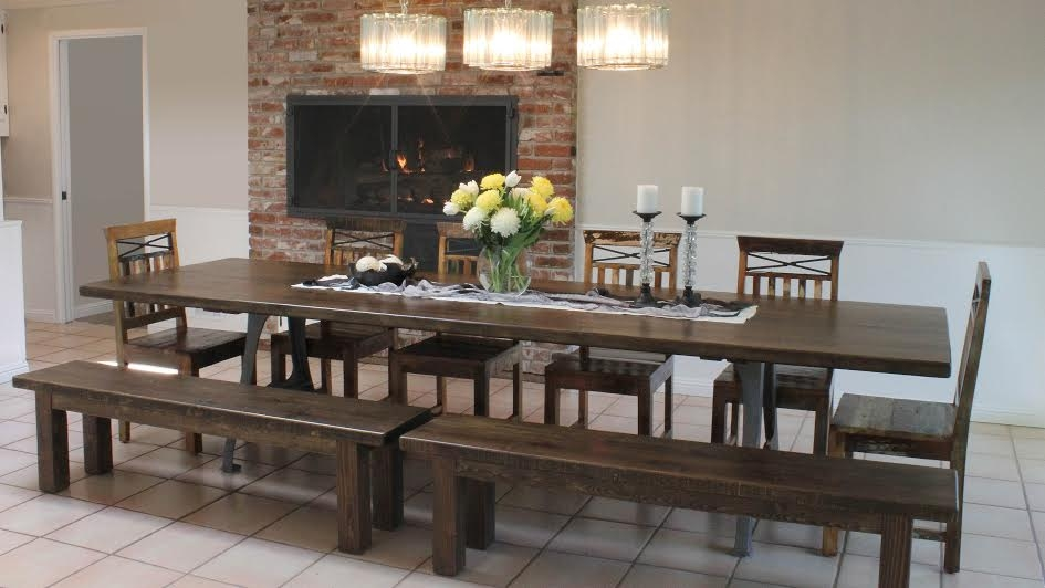 Long RI Leg Table with 2 Benches.jpg