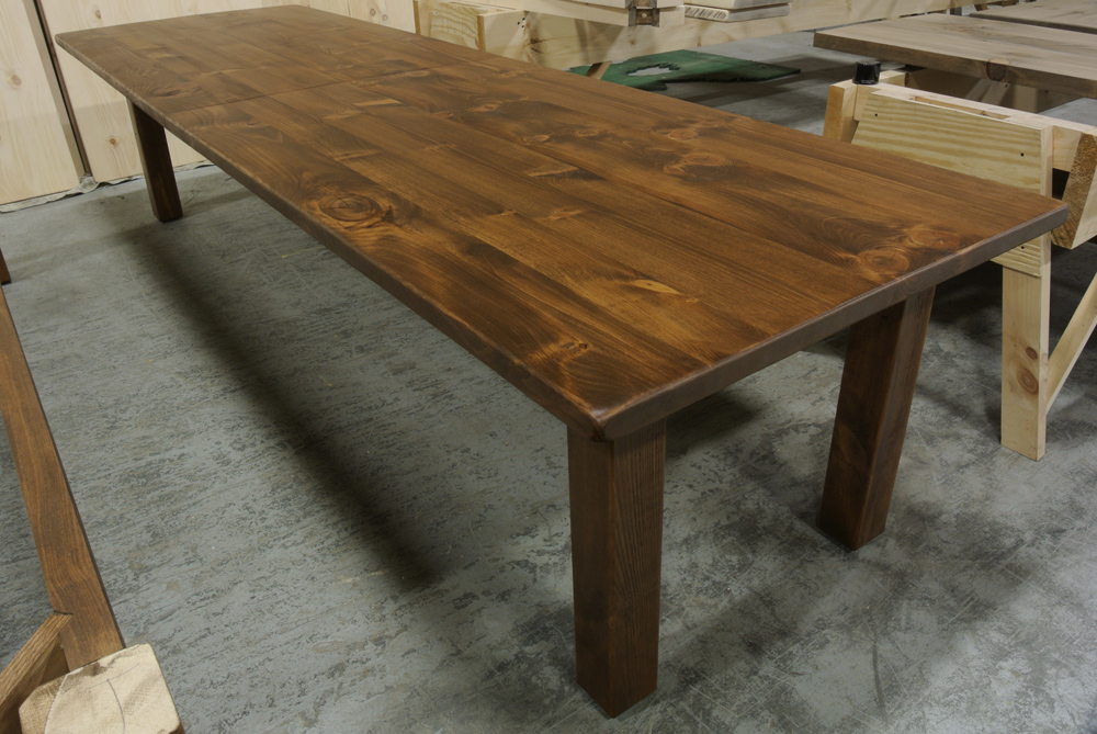 Large Pine Conference Table