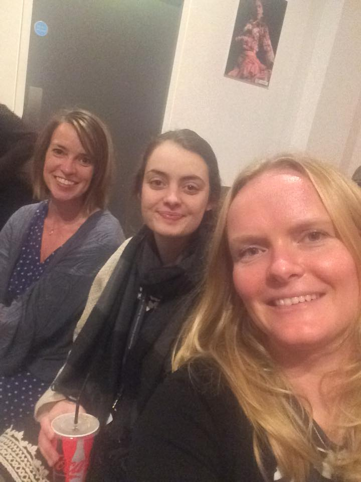 January 2017, L-R, me, our friend Flo, who also used to work at the British Council, and Susie at the screening of 'Century: 10 Women 10 Decades'  - 10 film portraits about brave, pioneering, funny and unique women in London from 0-100. Susie was one of the 10 women, and was on a panel afterwards and I remember there was a discussion on dreaming big.