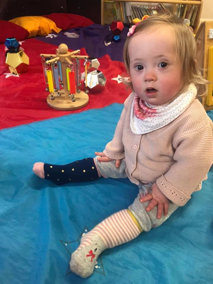 Happy World Down Syndrome Day! Picture at toddler group this afternoon