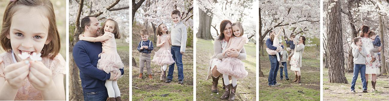 New Jersey Family Photographer, Best NJ Family Photographer, Spring Blossoms Family Photo Session