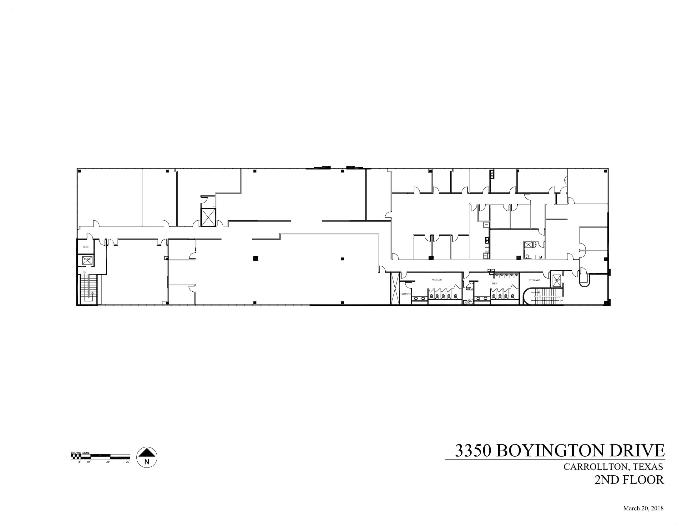 3350 Boyington Drive - 2nd Floor - As-built-1