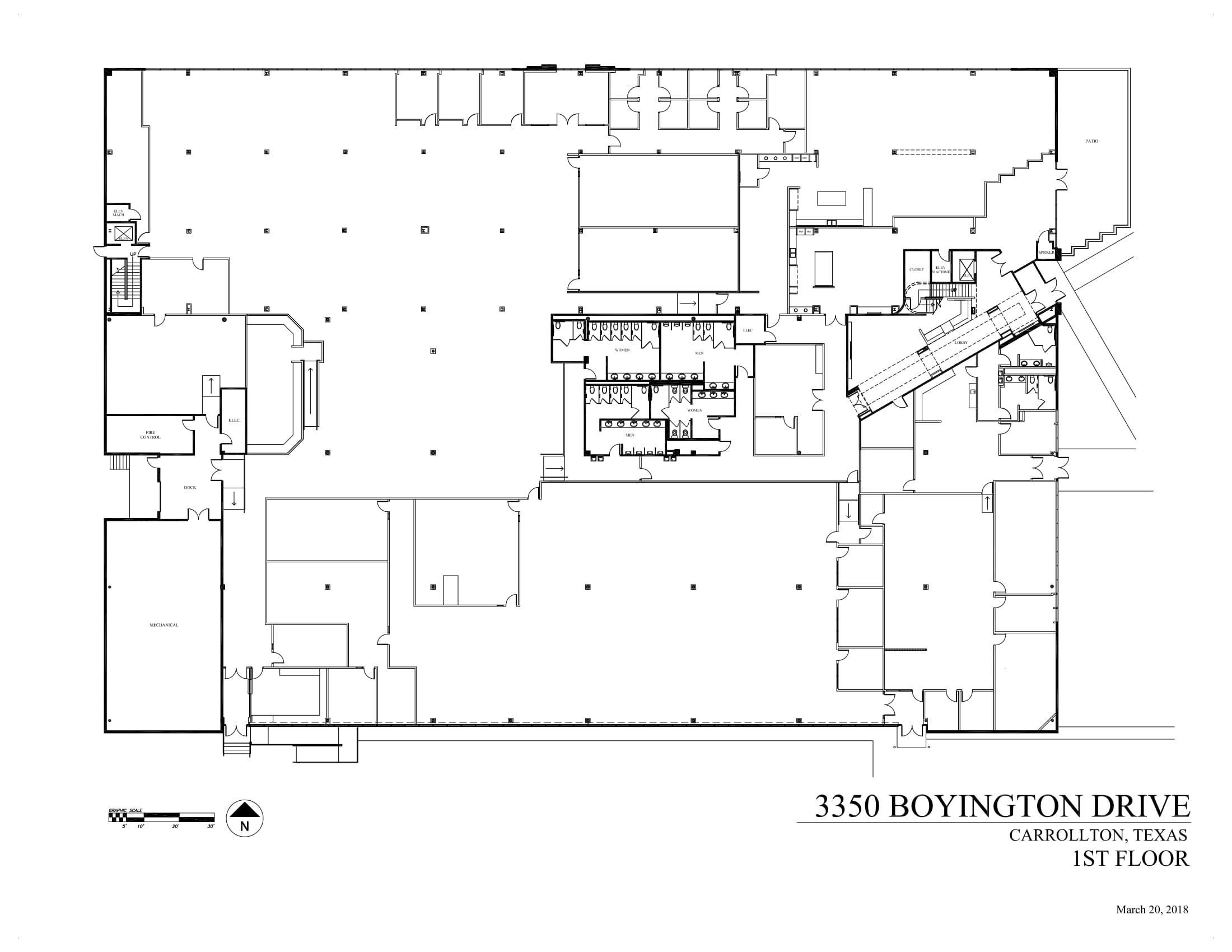 3350 Boyington Drive - 1st Floor - As-built-1