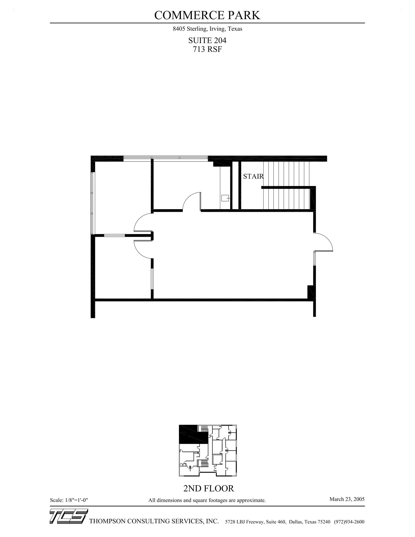 Commerce Park - 8405 Sterling - Suite 204 - Marketing Plan-1