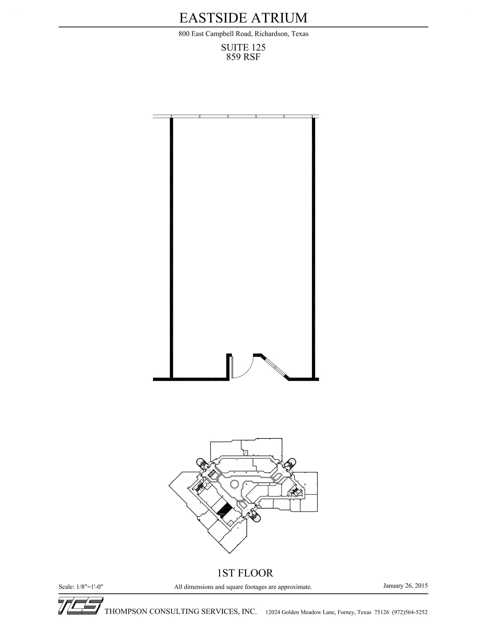 Eastside Atrium - Suite 125 - Marketing Plan-1