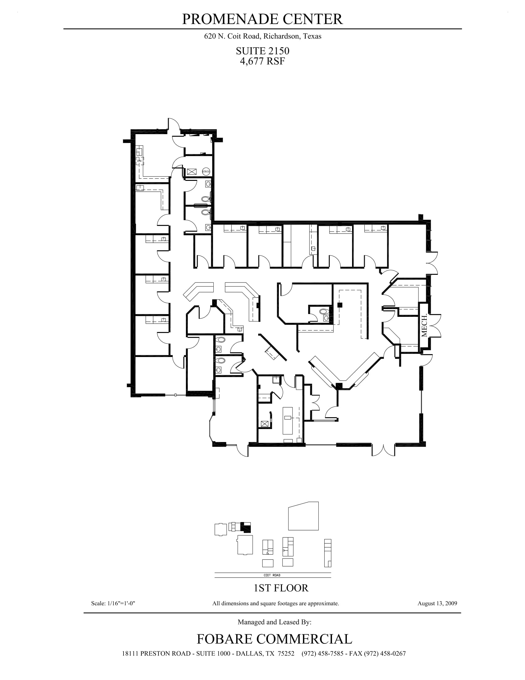 Promenade Center - Suite 2150 - As-built-1