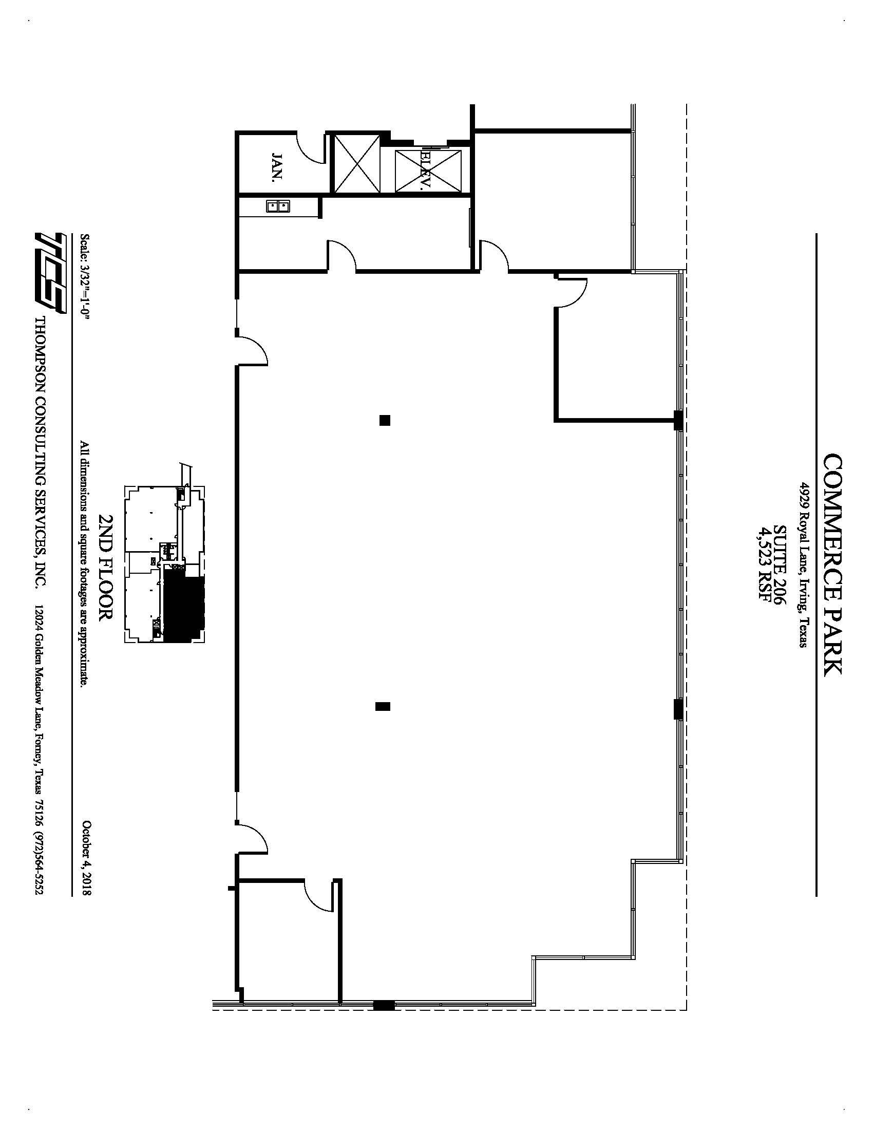 Commerce Park - 4929 Royal Lane - Suite 206 - Marketing Plan.jpg
