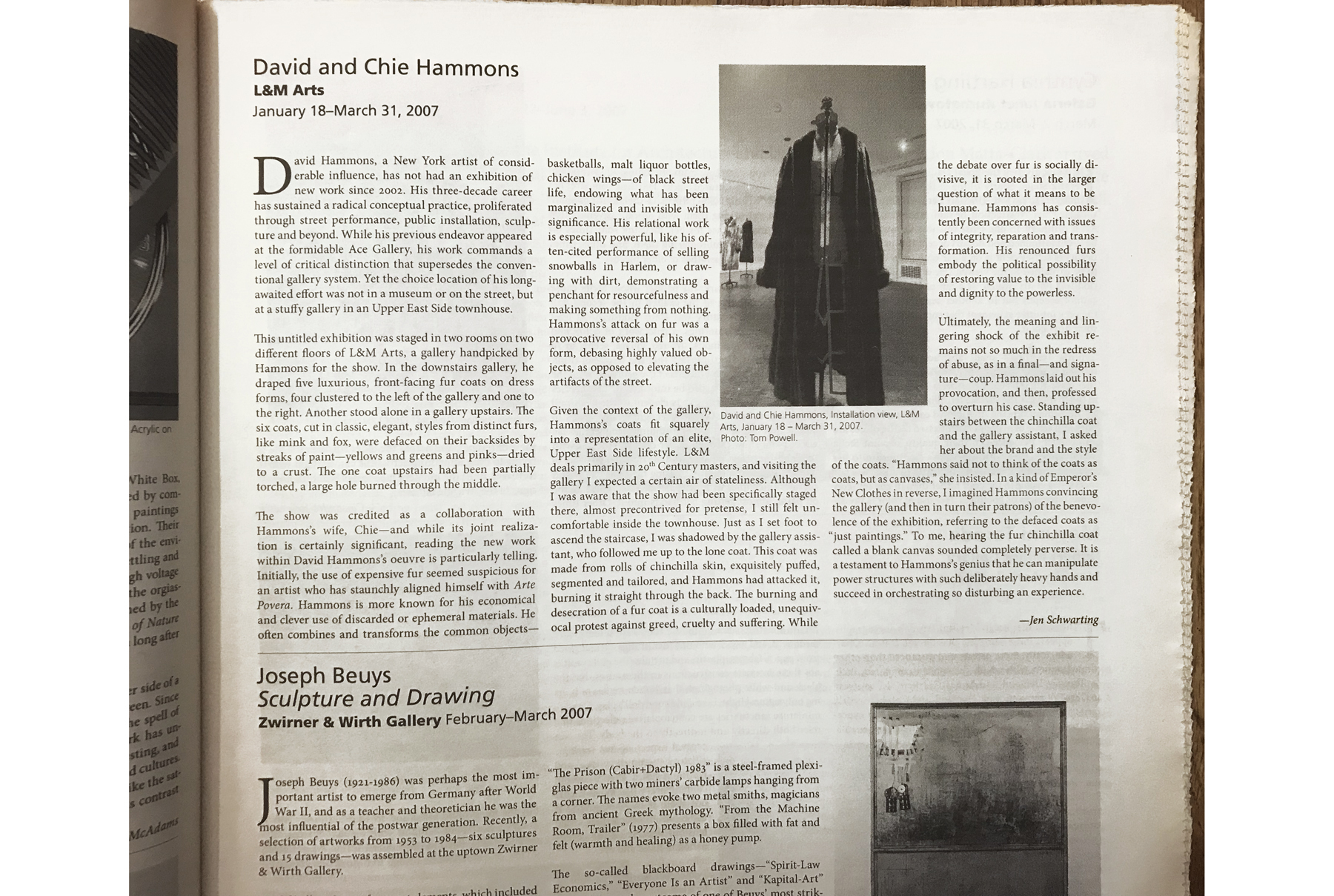 Review of David and Chie Hammons