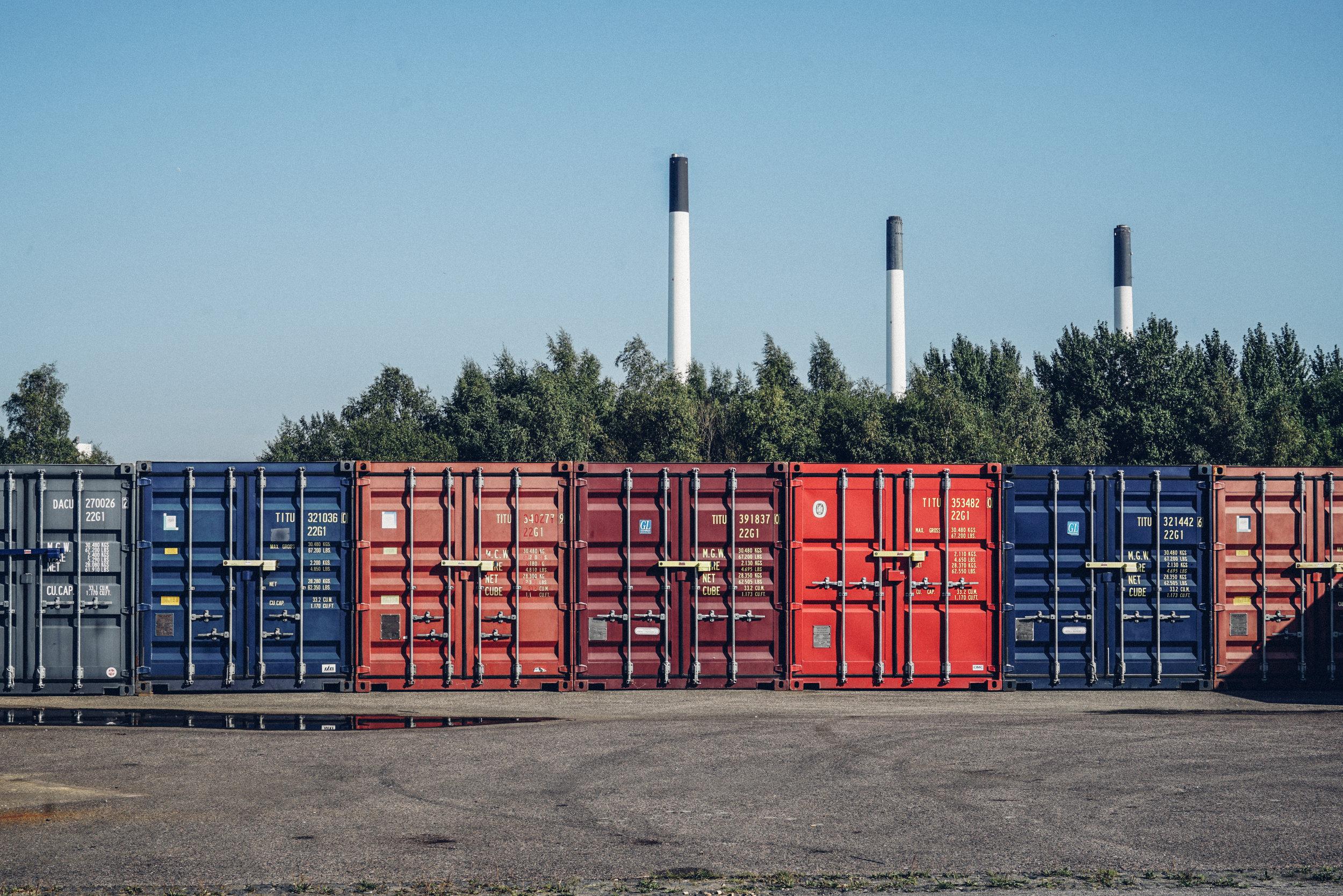 Copenhagen Suborbitals shipping containers