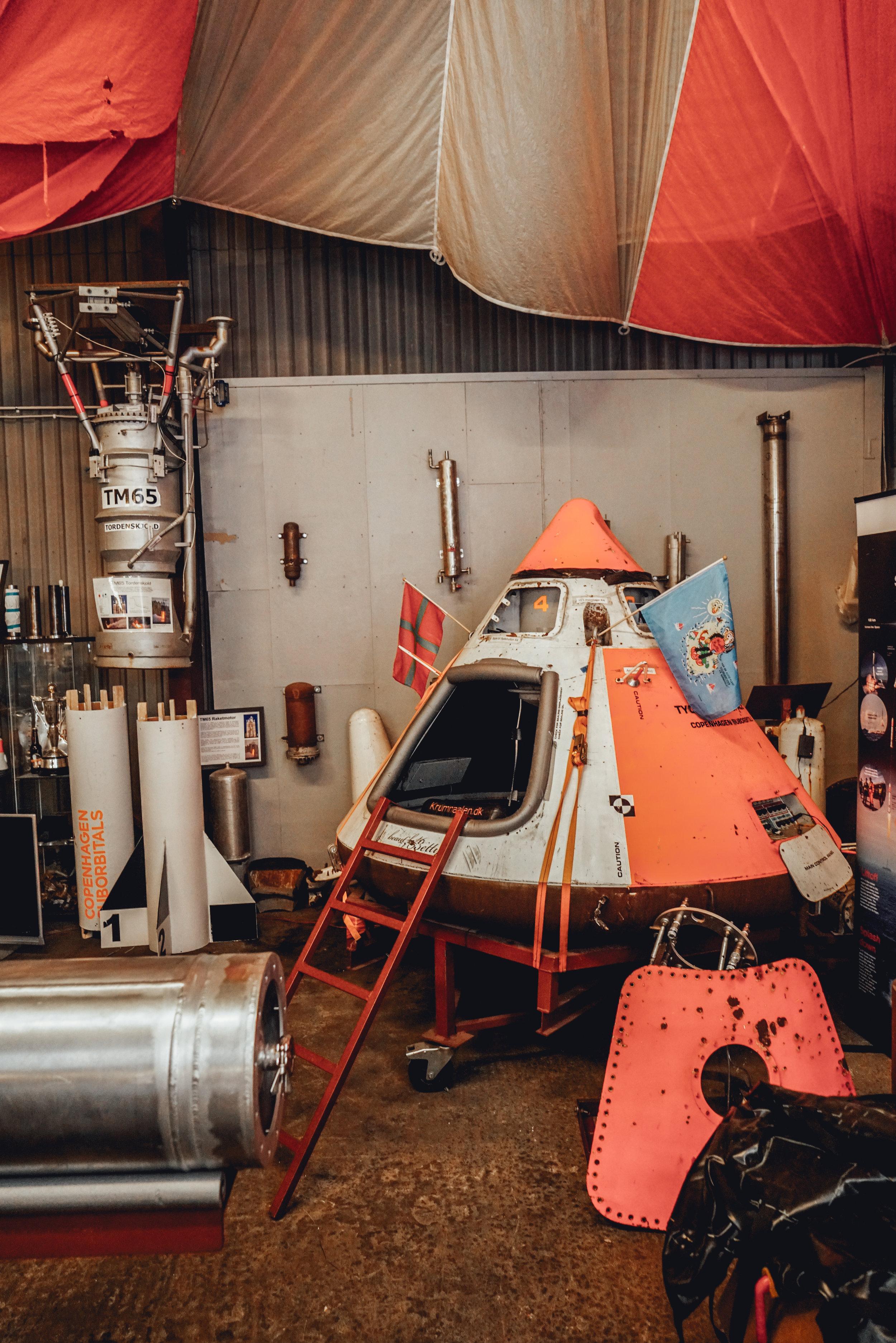 Copenhagen Suborbitals space capsule