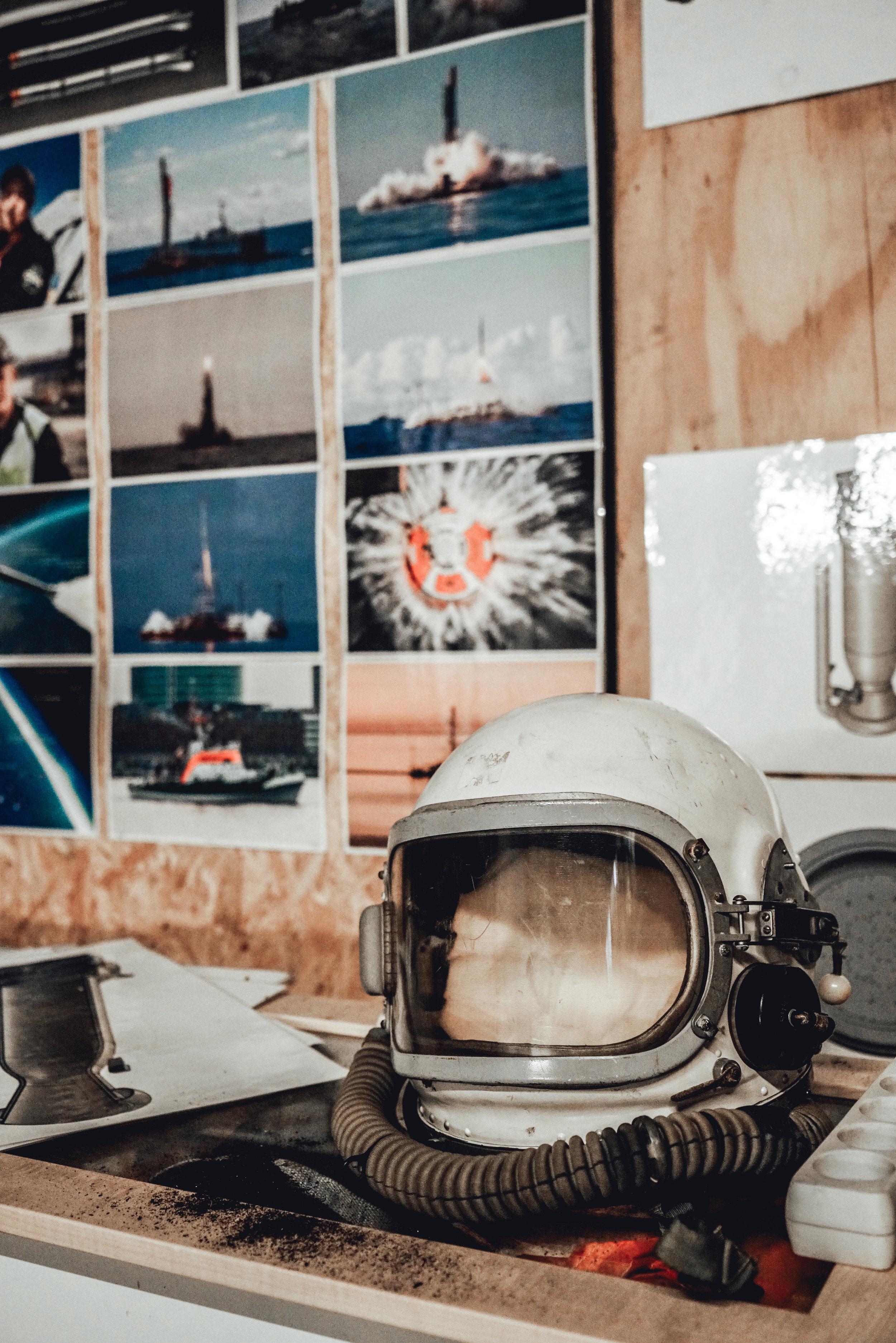 Copenhagen Suborbitals space helmet