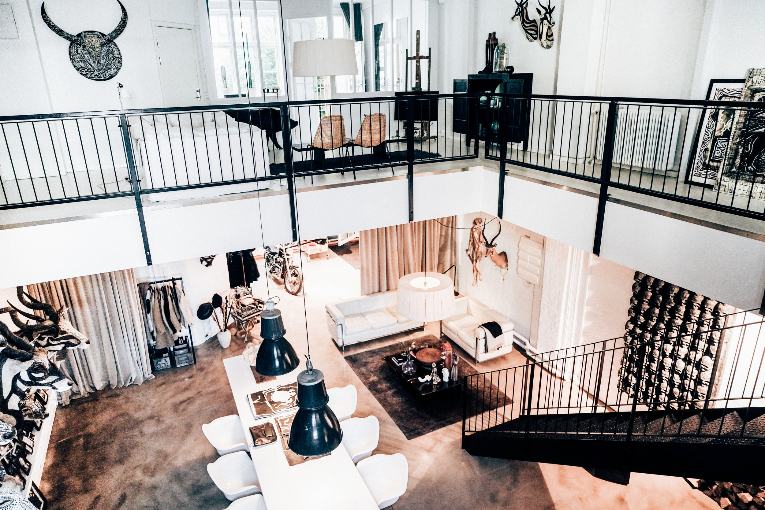 Morten Angelo's loft