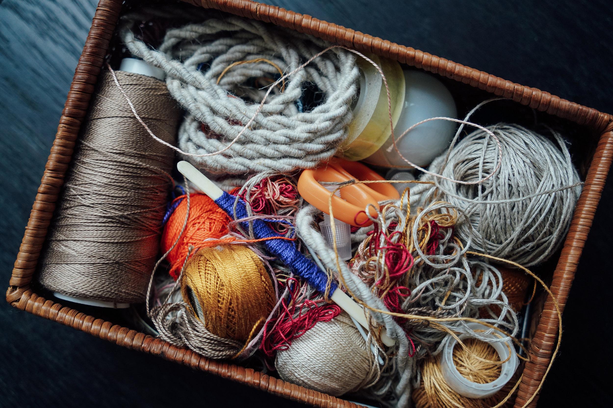 Alexandra Raben accessory basket
