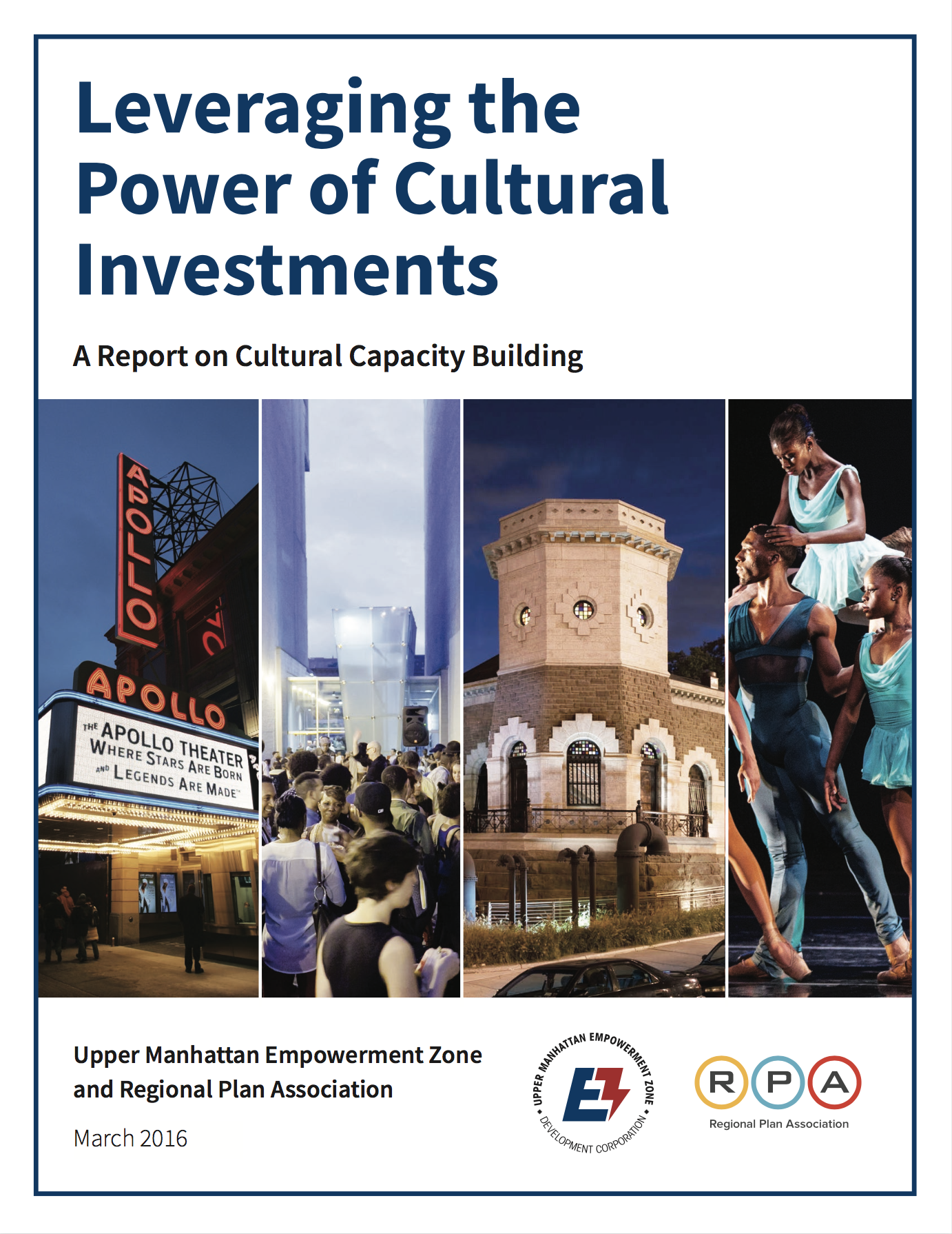 Leveraging the Power of Cultural Investments