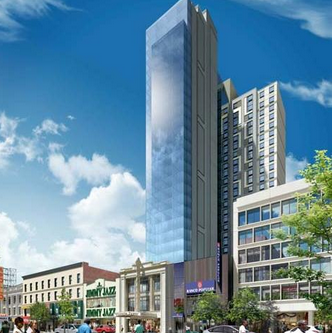 Southern Face Tower Rendering courtesy of Aufgang Architects, LLC