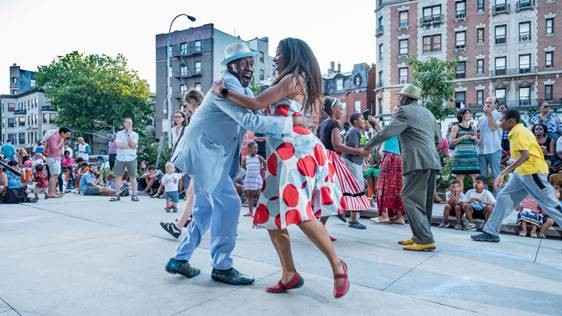 Photo courtesy of Harlem Swing Dance Society, 2019 UMEZ Arts Engagement Grantee