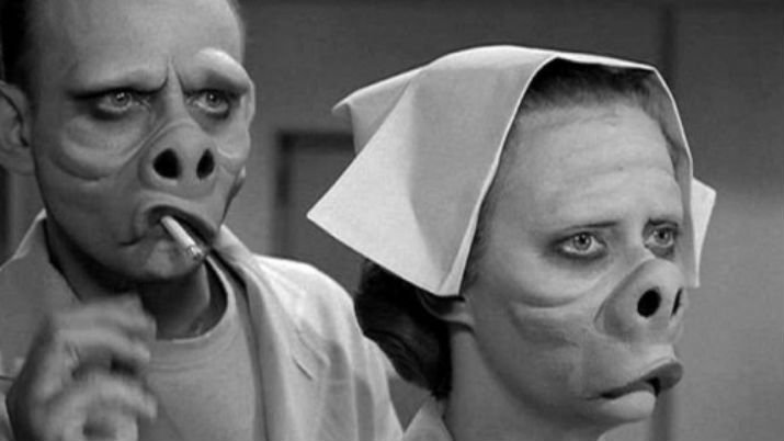 Remember this Twilight Zone episode? Oh, yeah! One of the best...