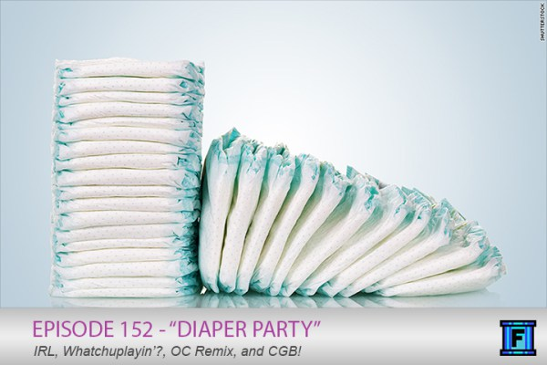 Summary - Strap on your adult Huggies and put in your earbuds, it's episode 152 of Fluxtaposed! We talk about Jason's diaper party, beer, games and movies! It's so good you might even wet yourself, so bring an extra diaper!