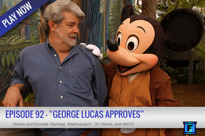 Summary - Hey...more Star Wars talk from Fluxtaposed?  Go figure!  We also happen to discuss a Sunday Funday, preview plans for our next show, AND some early discussion on Episode 100.  What would you like to see happen?We also have our thoughts on Revenge of the Sith, the most recent Game Awards, and more.  Even George Lucas approves of episode 92!