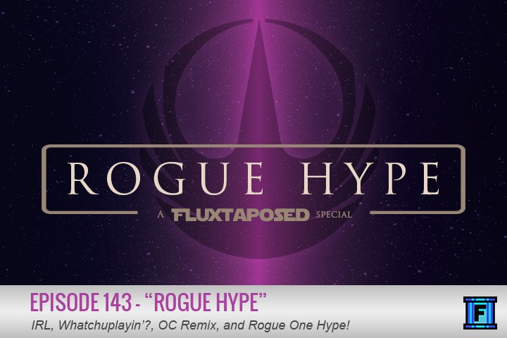 Summary - Get hyped and come on board the Rogue One Hype Train! We will be your conductors for this ride, which comes complete with the complimentary Rogue Hype episode! Along with your usual favorites we have Nathan Thomas on to talk Rogue One. Did we mention this is a Rogue One episode? ROGUE ONE!