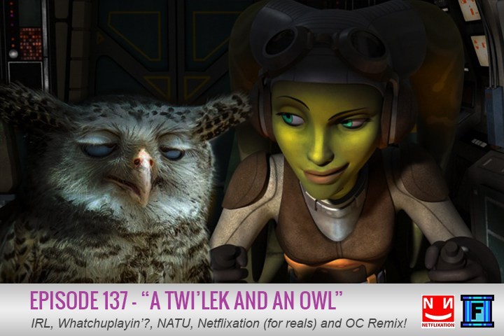 Summary - Yoda, a twi'lek, and an owl walk into a bar. I'm sure you've heard that one before, but have you heard episode 137 of the Fluxtaposed podcast? I highly doubt it. Prepare your lekku for entertainment!