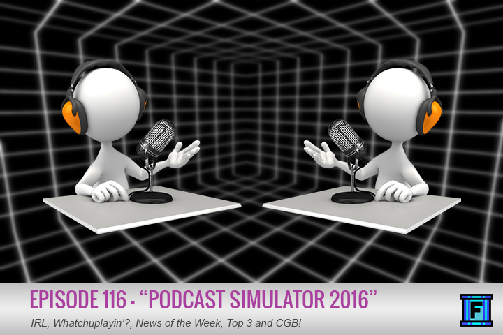 Summary - Welcome to Podcast Simulator 2016! In this episode, we simulate Jason, Lucas, and special guest Kevin from Play Some Video Games! Please excuse any syncing issues that may exist, this technology is not yet 100% perfect. Begin podcast listening experience!