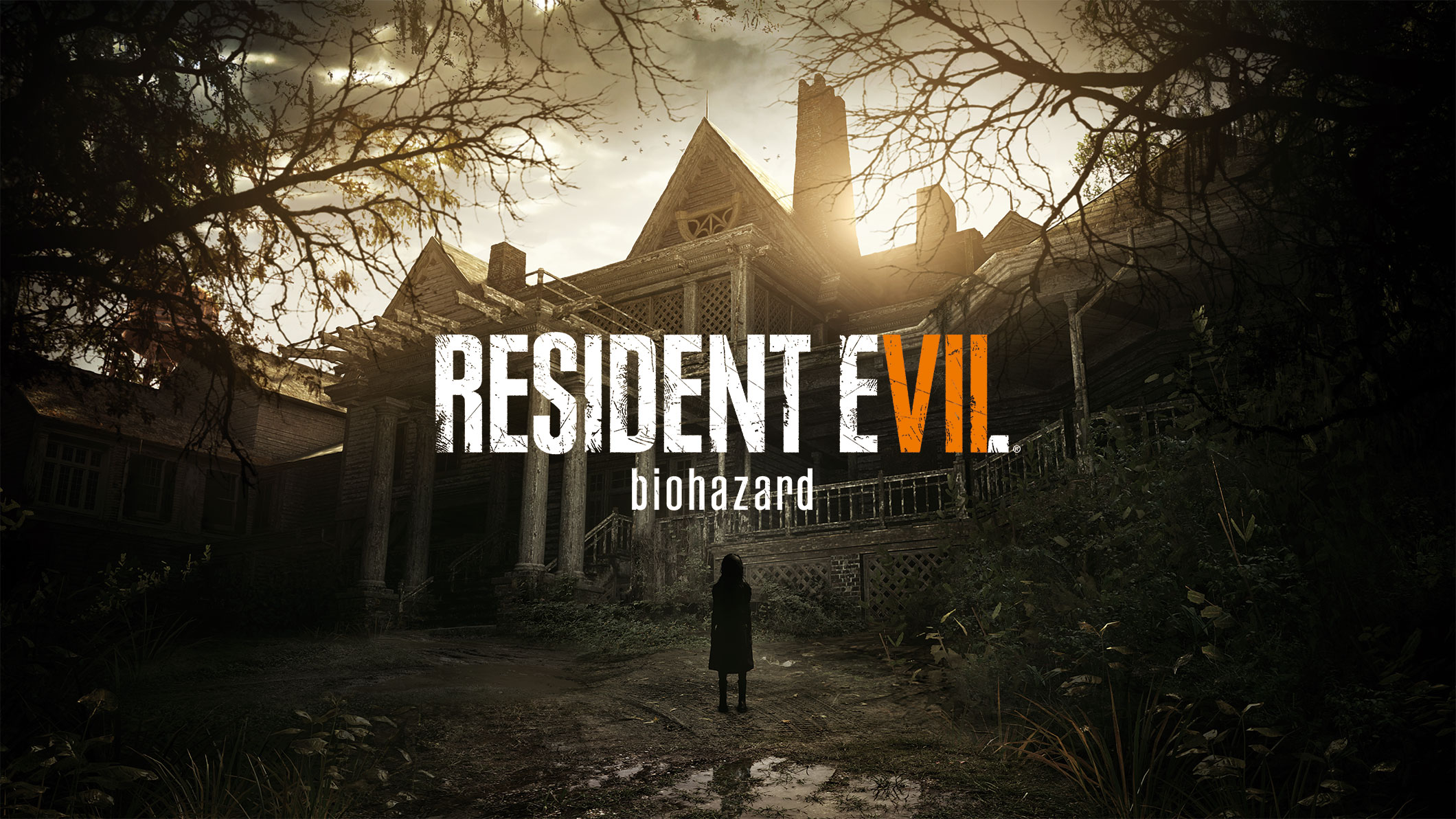 A creepy house mansion AND a creepy kid?! That's too much creepy for one game.