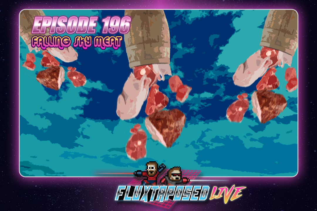 """Summary - Pull up a chair, this is Fluxtaposed, episode 196 recorded on Jan 23rd, 2018. On the docket today - Josh """"the Noyse"""" Brown is here, IRL, get caught up on Whatchuplayin' featuring Undertale and the Open House. Finally, we will close out the show with the community grab bag and that sweet, sweet, awkward finish. Thanks for listening and enjoy the show!"""