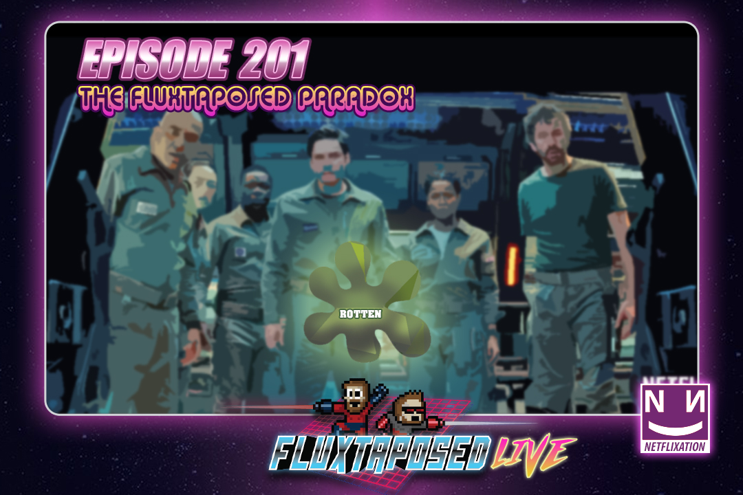Summary - Pull up a chair, this is Fluxtaposed, episode 201 recorded on Feb 27th, 2018. On the docket today -  IRL, our Netflixation of Cloverfield Paradox, get caught up on Whatchuplayin' featuring Electric Dreams & Black Panther. Finally, we will close out the show with the community grab bag and that sweet, sweet, awkward finish. Thanks for listening and enjoy the show!