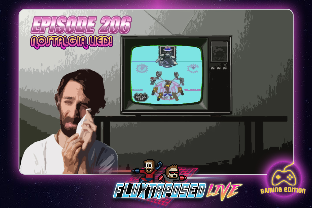 Summary - Pull up a chair, this is Fluxtaposed, episode 206 recorded on April 2nd, 2018. On the docket today -  IRL, it's GAME NIGHT. We throw down with Mutant League Hockey and Streets of Rage 2. Get caught up on Whatchuplayin' featuring Ready Player One and more Sea of Thieves . Finally, we will close out the show with the community grab bag and that sweet, sweet, awkward finish. Thanks for listening, thanks for watching, and enjoy the show!