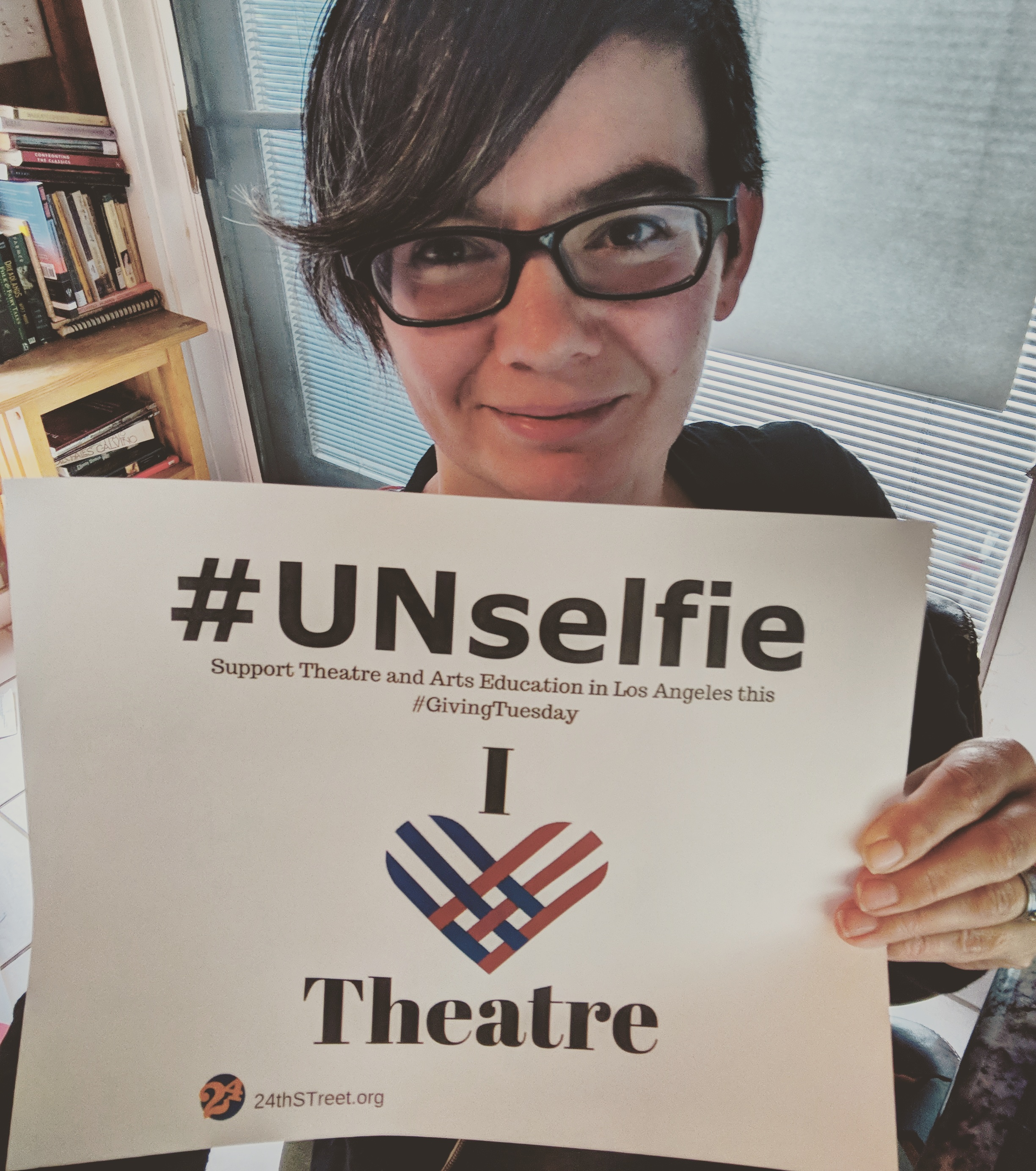My 1st @UNselfie. Keep an eye out for more!