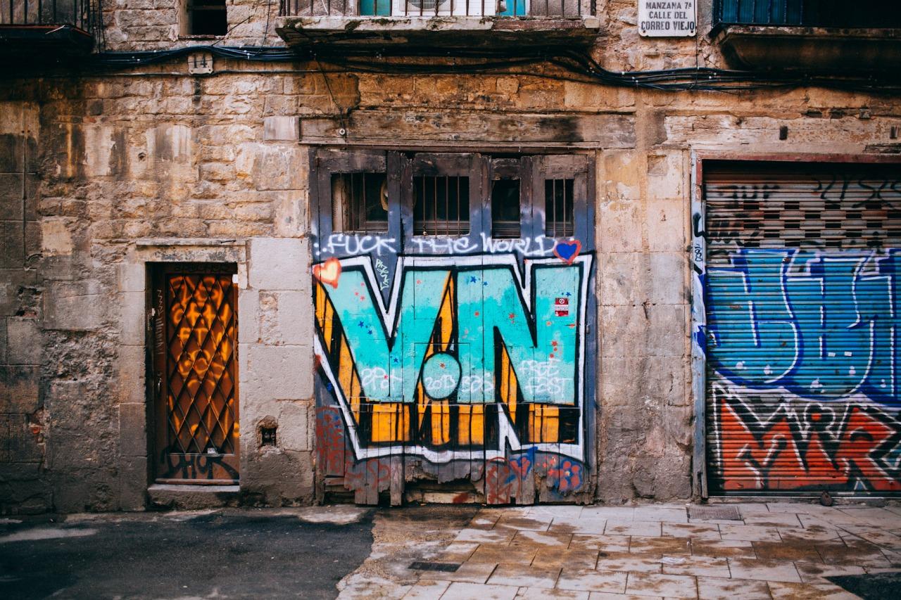 [Carrer del Correo Viejo] - Barcelona, Spain