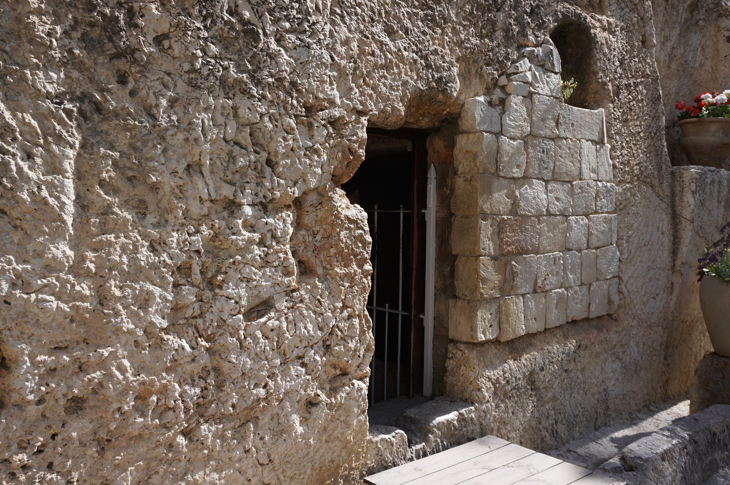 The Garden Tomb Jerusalem Israel 2.JPG