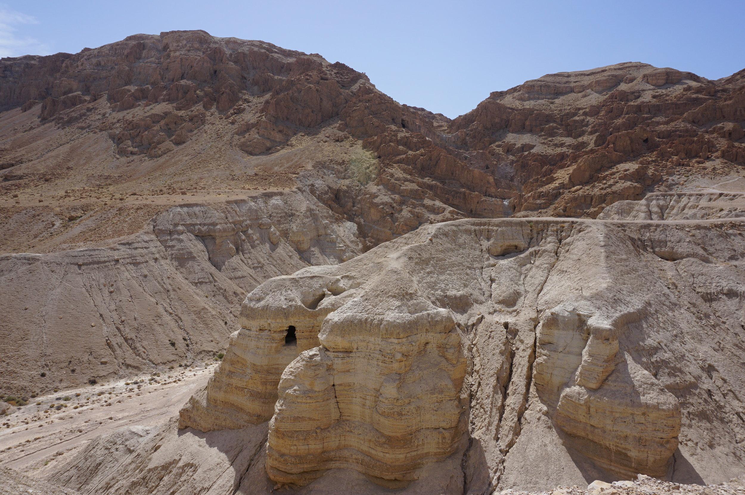 Qumran Israel Dead Sea Scrolls 2.JPG