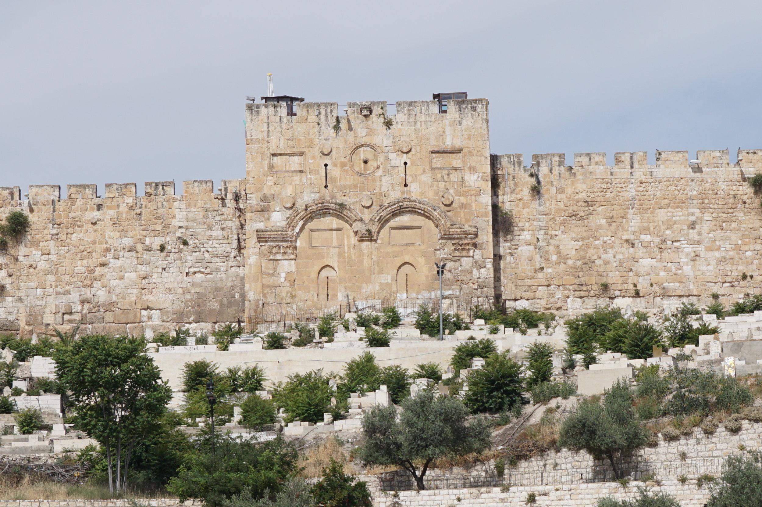 The Eastern Gate from the  Mount of Olives Jerusalem Israel.JPG