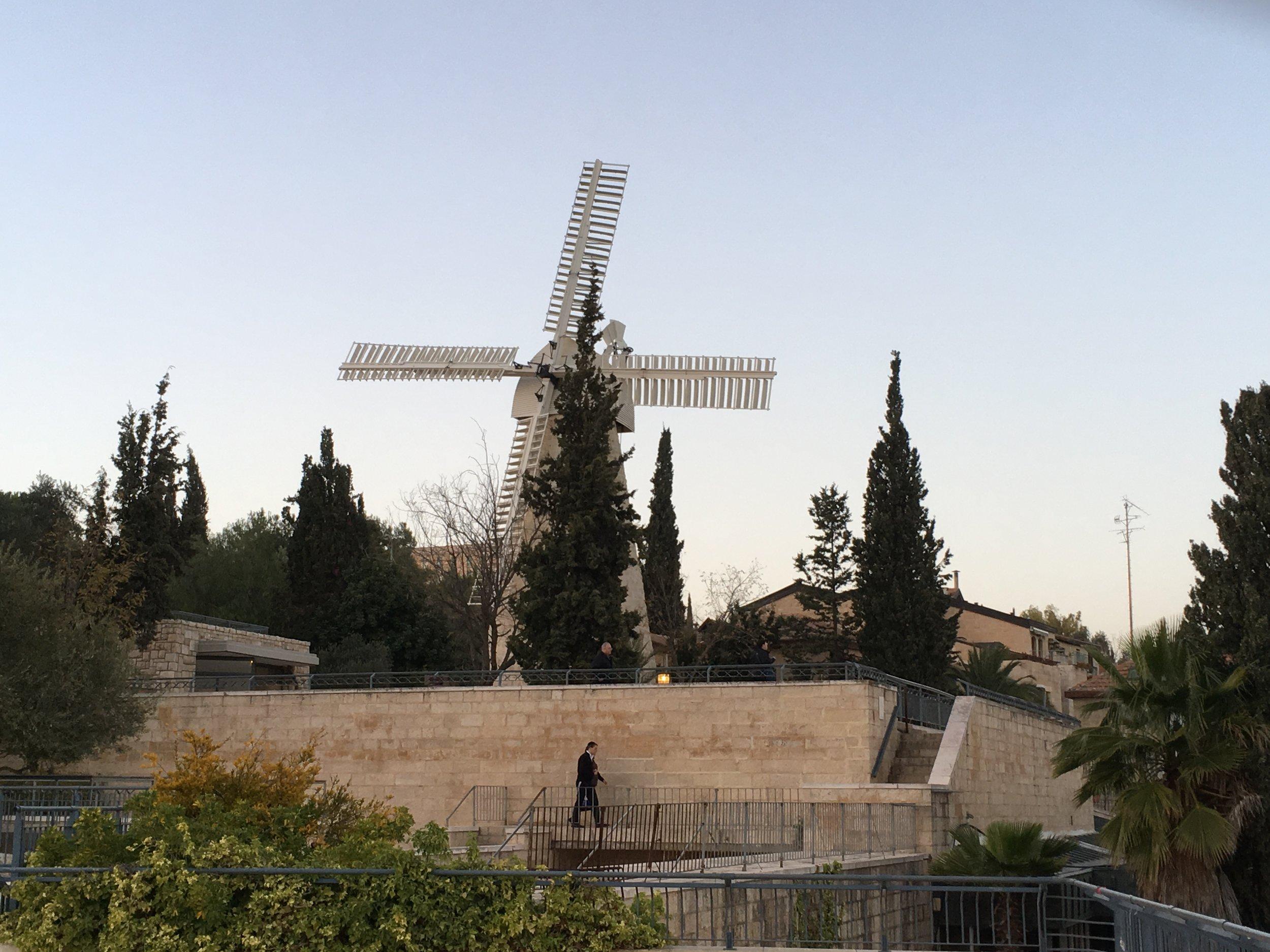 Montefiore Windmill in Jerusalem Israel.jpg