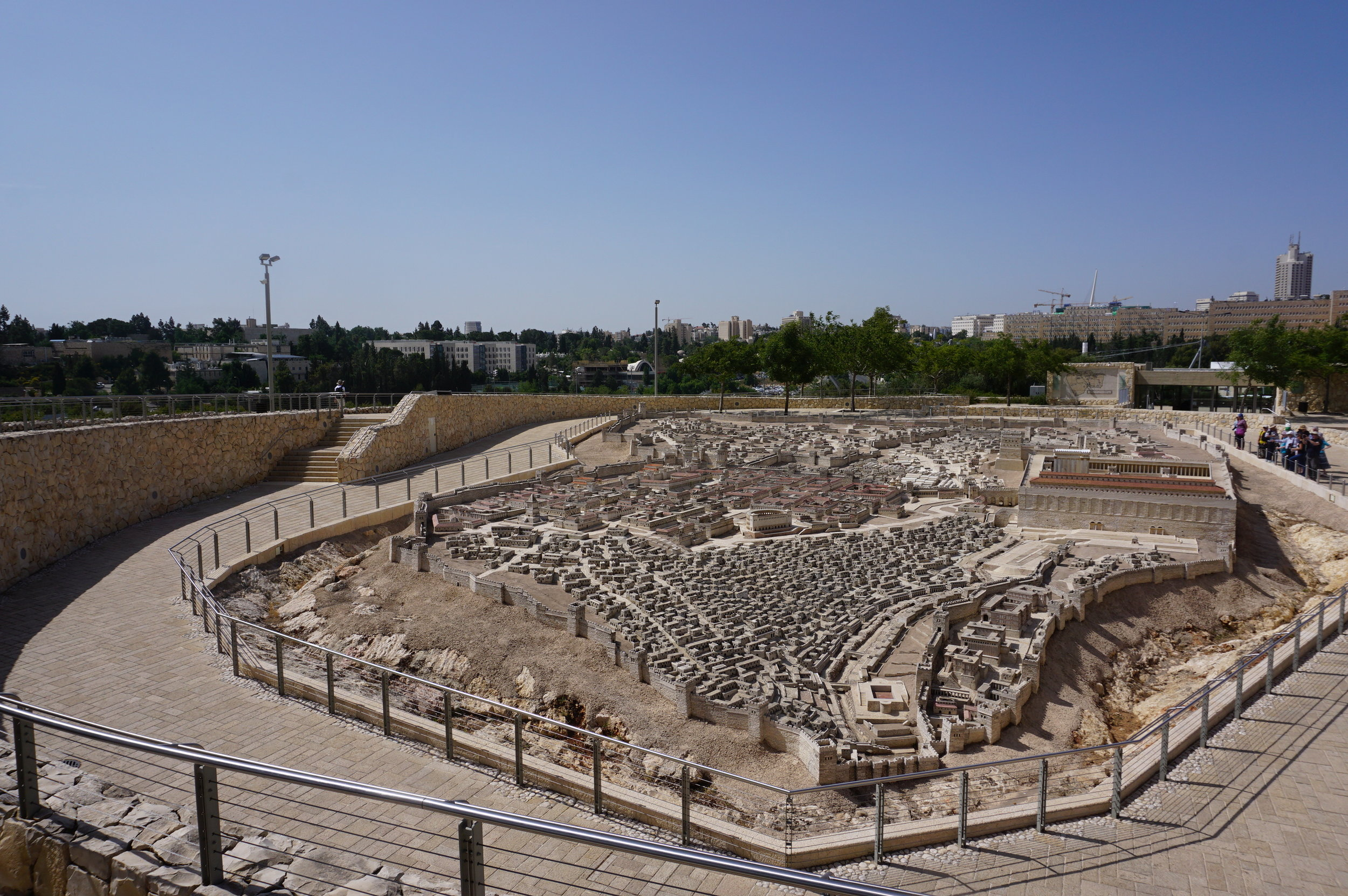 Model of Ancient Jerusalem Israel 3.JPG