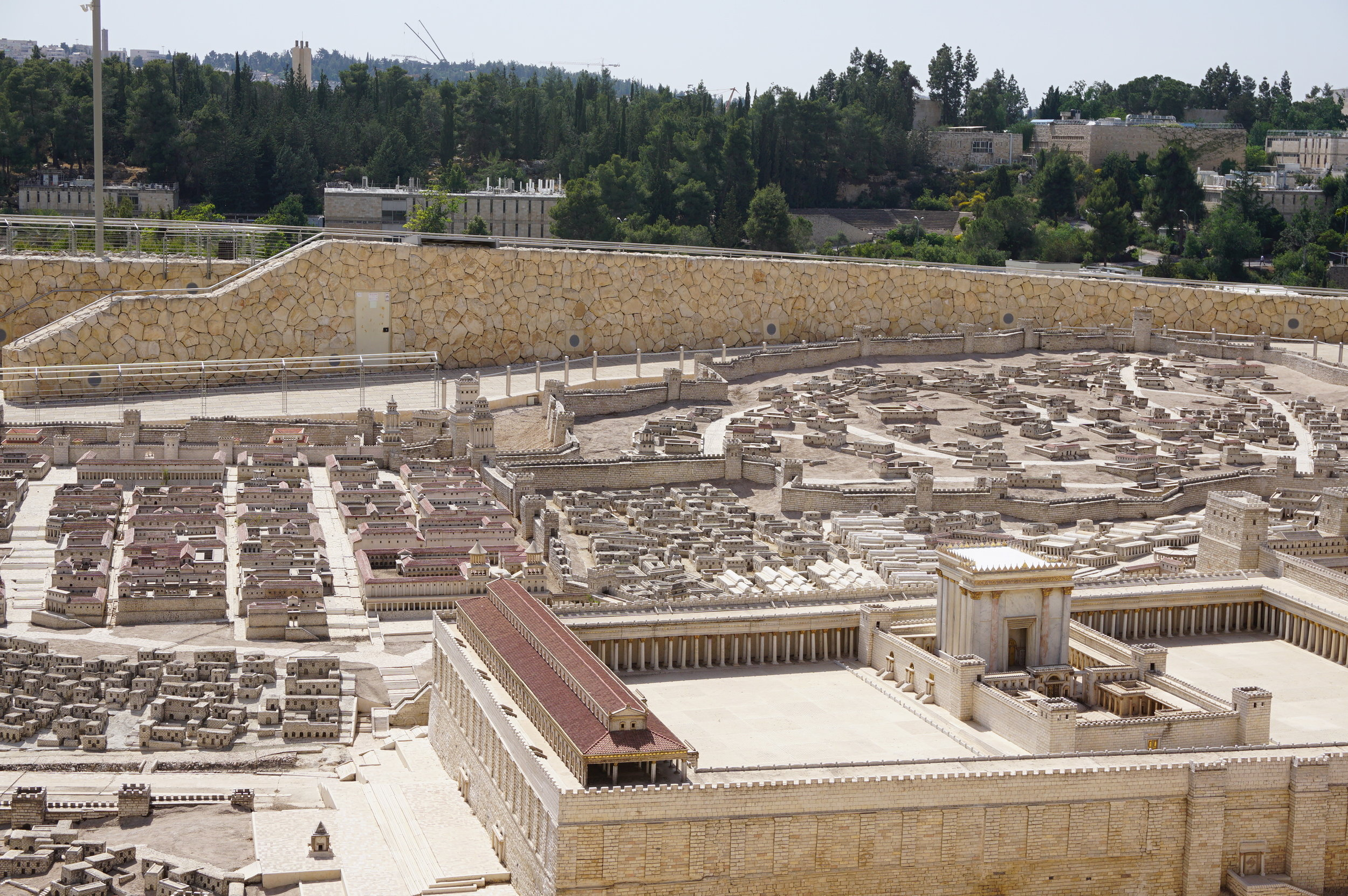 Model of Ancient Jerusalem Israel 4.JPG