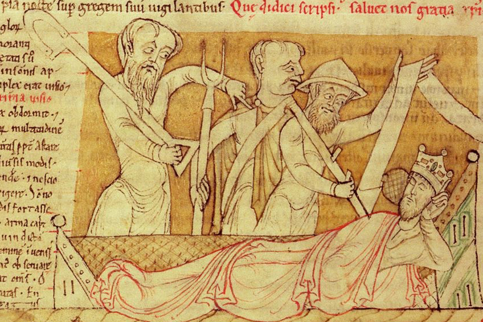 The nightmares of Henry I, early 12th century