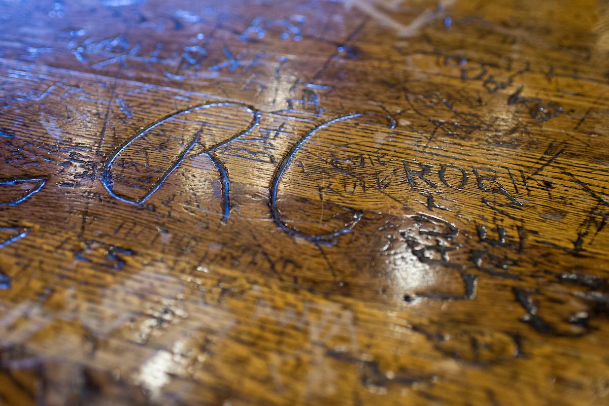Rathskeller table - Wisconsin Memorial Union